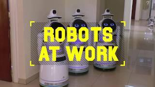 Robots at Work: Rwanda deploys robots to minimize coronavirus risk