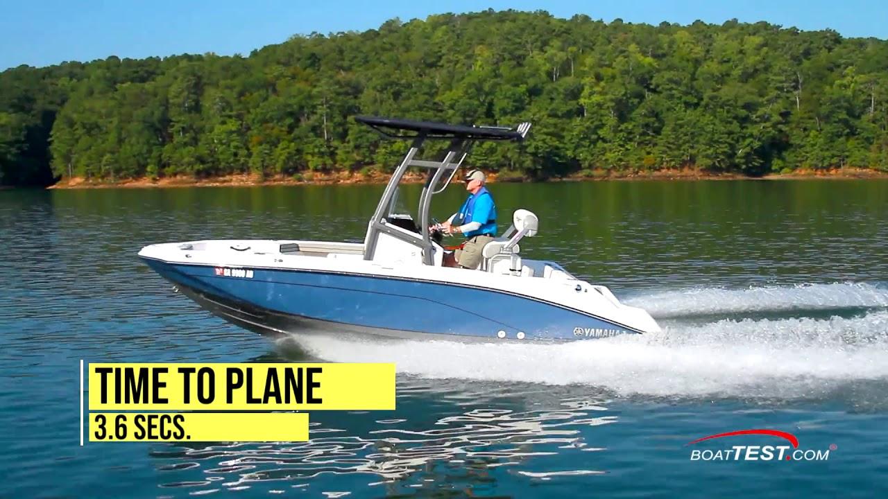 Yamaha 195 FSH Sport (2020-) Test Video - By BoatTEST.com
