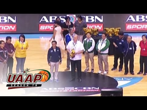 UAAP 78: Awarding Ceremony