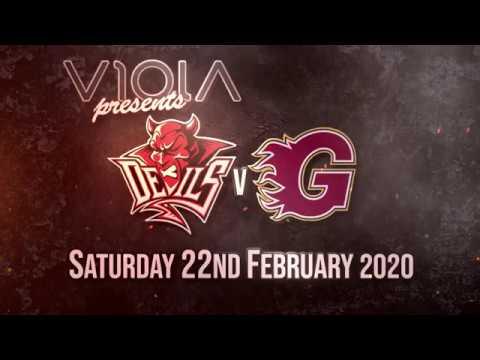 2020-02-22 - Cardiff Devils V Guildford Flames, Highlights