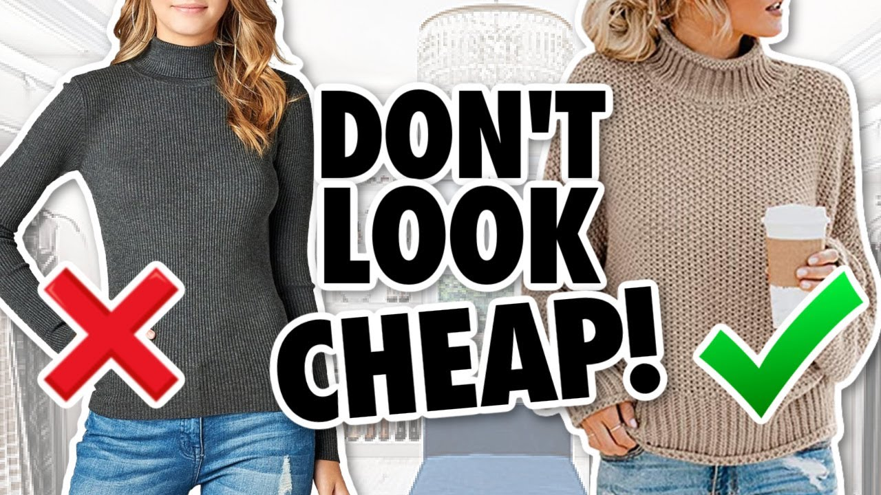 Download 9 Reasons Your Clothes Look CHEAP! *stop wearing this*