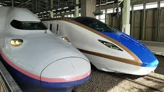 新潟 北陸新幹線 E7系 試運転