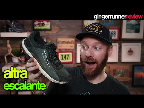 ALTRA ESCALANTE REVIEW | The Ginger Runner