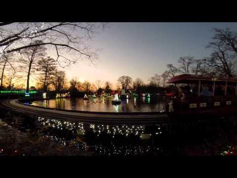 Cincinnati Zoo Christmas 2014