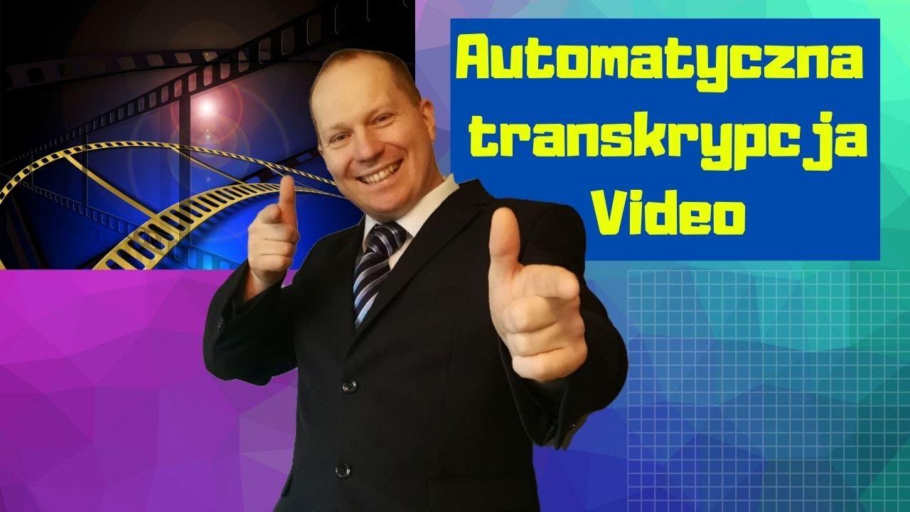 Jak zamienić video na tekst  bez mikrofonu