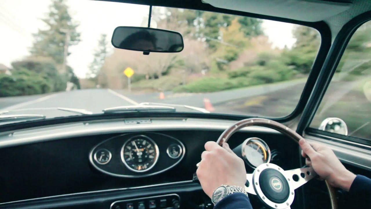 Super Fast Test Drive in Brocks Classic Mini Cooper  YouTube