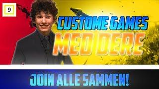 Duo Custom Games Med Dere - Creator Code - DavidKielland - Norsk Fortnite Stream
