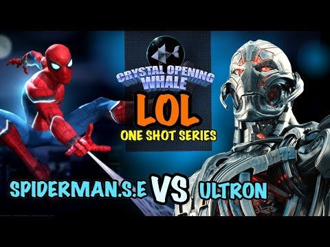 LOL One Shot Series Stark Spidey Vs Ultron-Marvel Contest of Champions