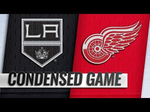 12/10/18 Condensed Game: Kings @ Red Wings