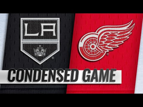 12/10/18 Condensed Game: Kings @ Red Wings