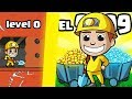 HOW EXPENSIVE IS THE MOST VALUABLE DIAMOND MINE EVOLUTION? (LEVEL 9999 UPGRADE) l Mine Tycoon Game