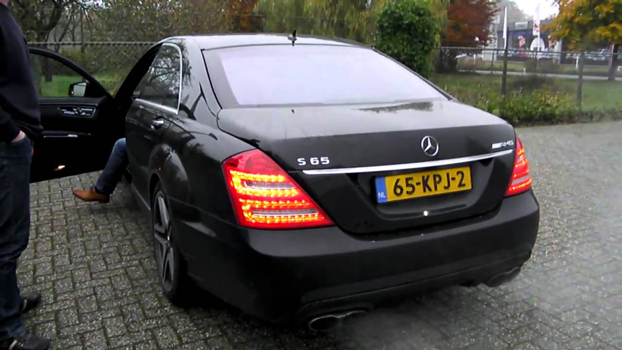 Mercedes S65 AMG V221 2010 - Revving - YouTube