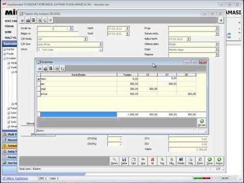 Mikro Standart Ticari ERP Paketi