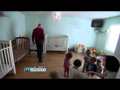 Dr. Drew Surprises Octomom at Her Home