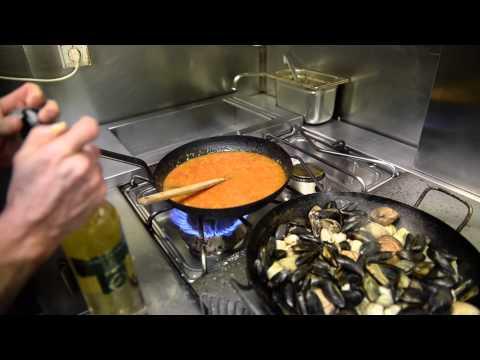 recette de la zarzuela au restaurant le Calejon à Biarritz