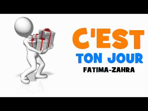 Joyeux Anniversaire Fatima Zahra Youtube