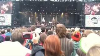 Les Frères Morvan et les Tambours du Bronx Live Vieilles Charrues 2009
