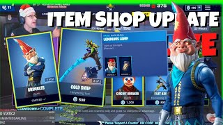 🔵MenamesCho's LIVE - NEW GRIMBLES SKIN SHOWCASE 🔴 ITEM SHOP UPDATE TODAY 👈 FORTNITE - SAT 22 DEC