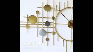북유럽 럭셔리 유니크 은하수 대형 벽걸이시계 인테리어