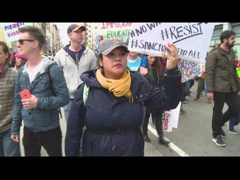 """Immigration aux États-Unis : les """"villes sanctuaires"""" s'élèvent contre Trump"""