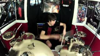 Skrillex - Scary Bolly Dub - Drum Cover - Leaving Ep (NEW)