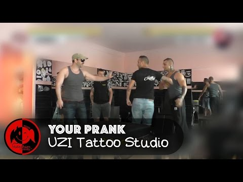 Astathios Your Prank: Tattoo studio prank!