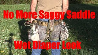 Say Goodbye To Saggy Saddles!!!! Absolutely Free Solution.