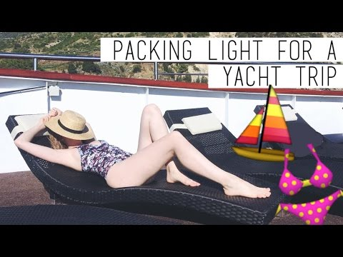 How To Pack a Carry-On for a Week on a Yacht? | chanelegance