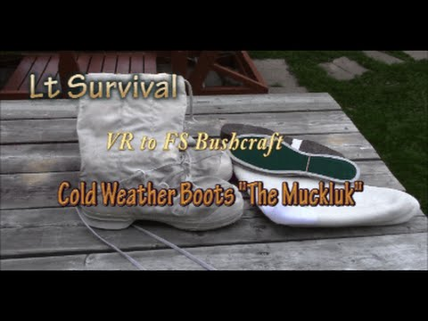 VR to FS Bushcraft Cold Weather Boots the Mukluk