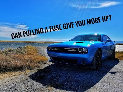 Fuse pull on a  Challenger Scat Pack | 0 to 60 runs
