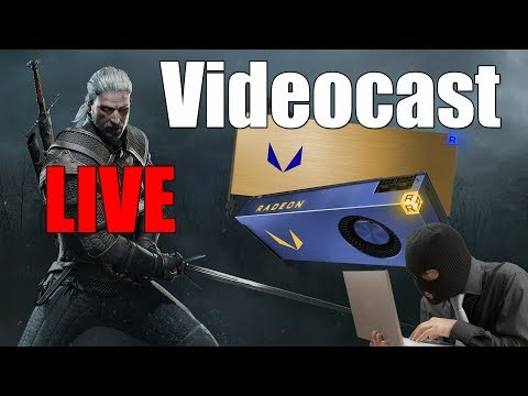 VideoCast: AMD Vega Frontier, mais WannaCry e The Witcher na Netflix!