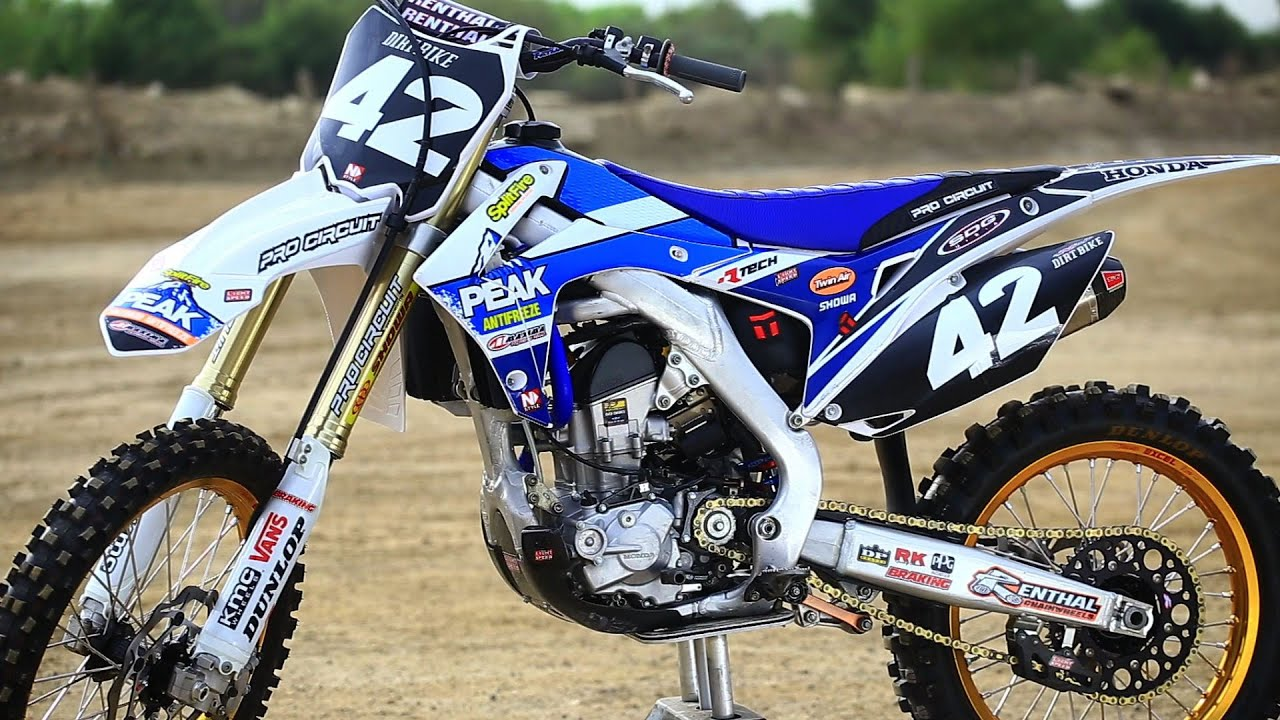 Pro Circuit Peak Honda Crf250 Replica Hardware Dirt Bike