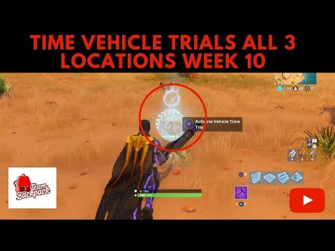 Complete Vehicle Time Trials All 3 Locations Week 10 Season 6 Challenges