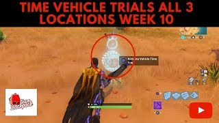 All The Vehicle Time Trials In Fortnite Season 6 Gesundheit365