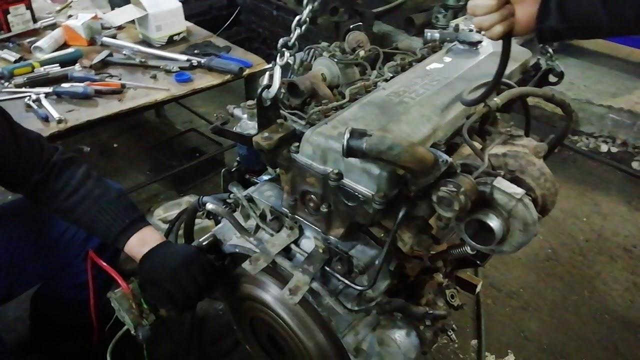 Двигатель 4HG (ISUZU) ремонт и проверка двигателя