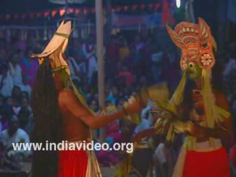 Padayani - the martial ritual art