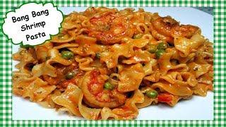 Bang Bang Shrimp Pasta Recipe ~ How to Make Easy Bang Bang Shrimp or Chicken