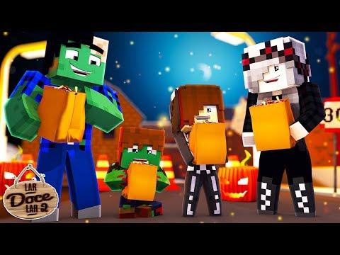 VAMOS PRA FESTA DE HALLOWEEN! 🎃 - Minecraft: Lar Doce Lar 2 #99