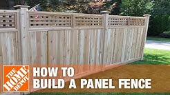 How to Install a Panel Fence