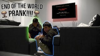 End of the World Prank!!! (almost cried)