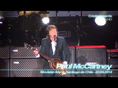 Paul McCartney - All my Loving ( Movistar Arena, Santiago de Chile - 22.04.2014 )