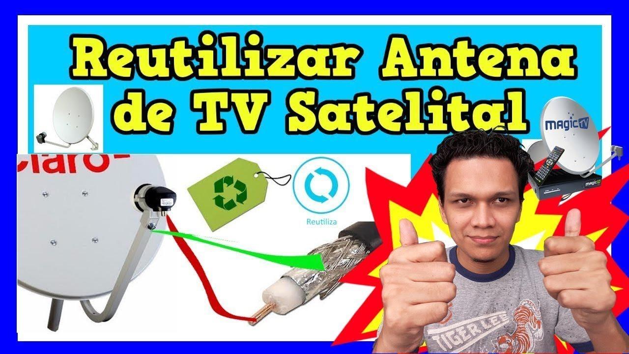 Como Reutilizar La Antena De Tv Cable Satelital Para Tv Abierta O Tdt Modificando El Lnb En 2020 Youtube
