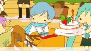 Meiko Kaito Miku Rin Len Gakupo Sweet Merry Xmas sub español MMP + romanji + mp3