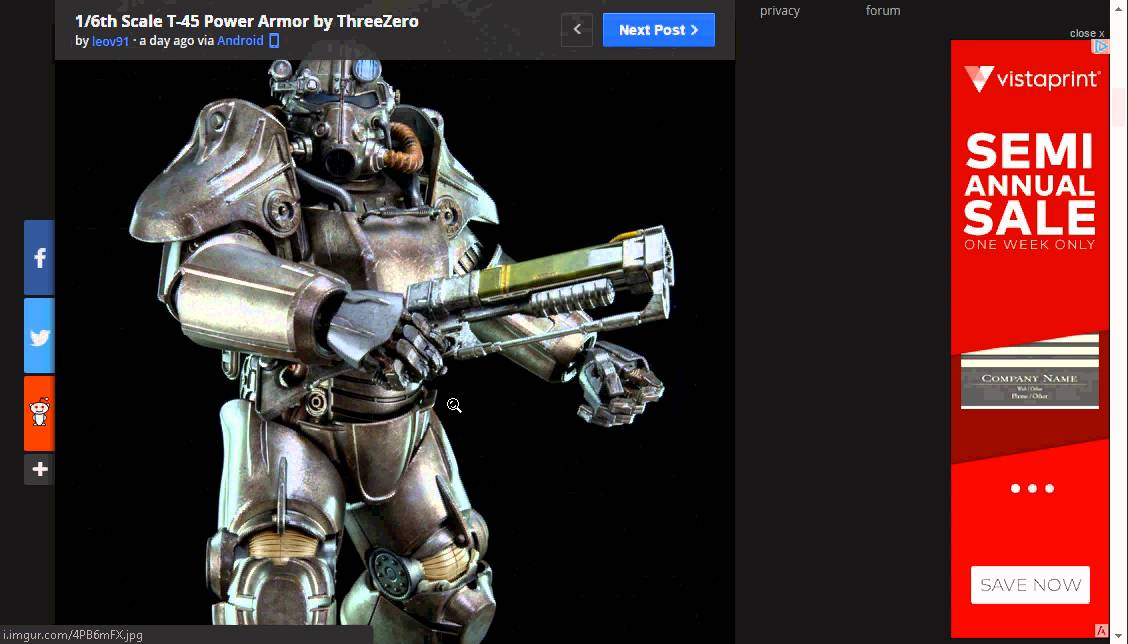 Fallout 4 Real Life T-45 POWER ARMOR Figure Release Date and more info