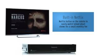 Panasonic HWT250 Blu ray Player Freeview Play Recorder