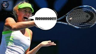 Every time Sharapova grunts it gets faster by 20%