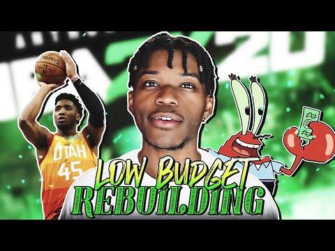 The Low Budget Rebuilding Challenge in NBA 2K20