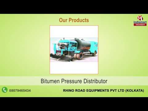 Road Construction Equipment By Rhino Road Equipments Pvt Ltd, Kolkata