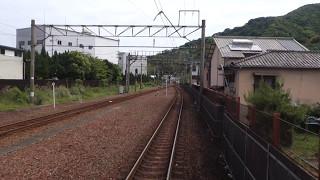 肥薩おれんじ鉄道 HSOR-100形(HSOR-115A) 肥後田浦~たのうら御立岬公園 前面展望