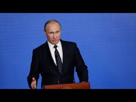 Обращение Президента России Владимира Путина к избирателям